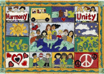 Peace and Harmony Poster I
