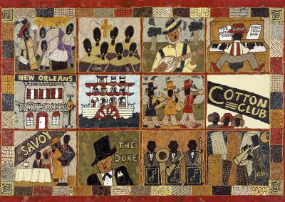 Jazz History Quilt